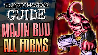 ALL MAJIN BUU Forms Explained