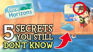 Animal Crossing New Horizons: 5 SECRET DETAILS You STILL Don't Know (ACNH Features You Should Know)