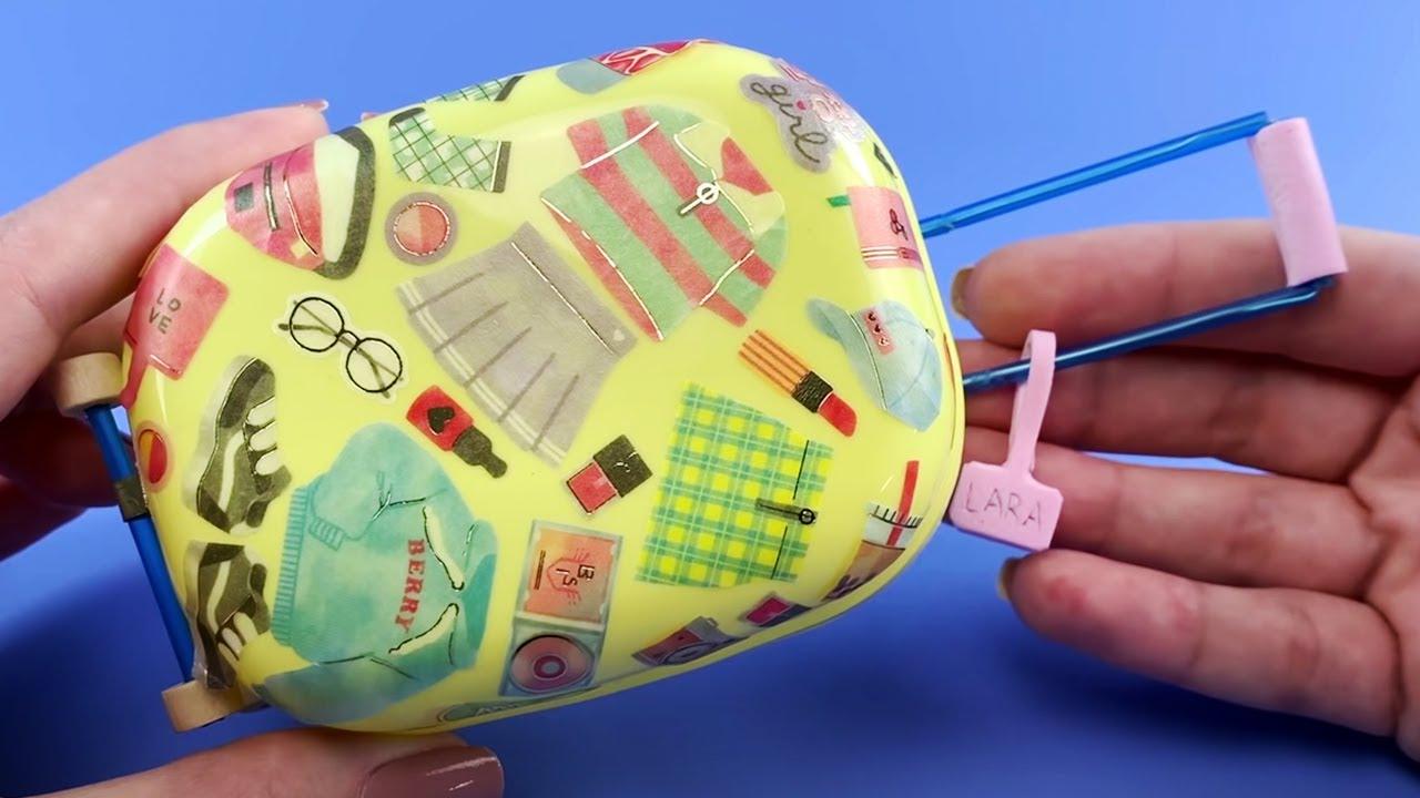Hobbygift classique projet Case Craft Rangement ~ Mini licornes Design ~ 10x39x23cm