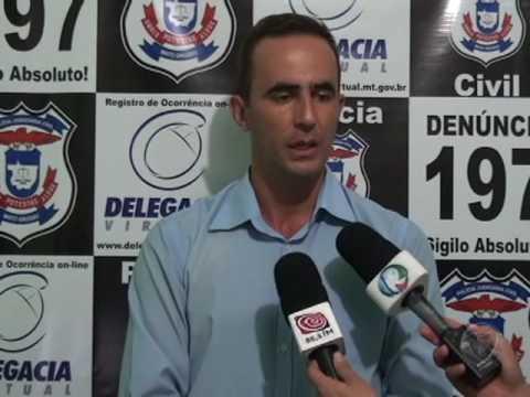Polícia Civil divulga informações sobre assassinato registro em Confresa