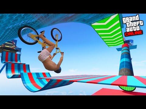 BMX HARD THE WINNER IS ? - GTA 5 ONLINE