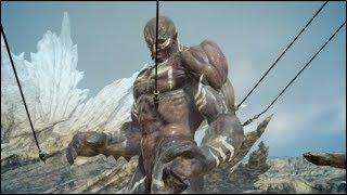 Final Fantasy XV - Summoning Titan against Titan
