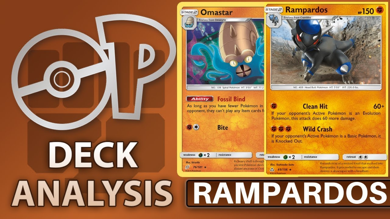 Rampardos Standard Deck Analysis and Battles! (Pokemon TCG)