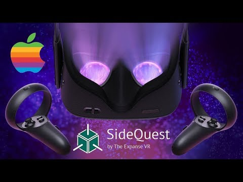 Oculus Quest/Go Mac SideQuest Tutorial - Install Any APK/Game/Application