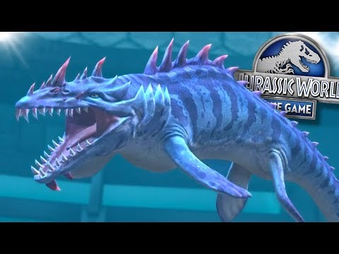 Deadly Tentacle Monsters!    Jurassic World - The Game - Ep301 HD
