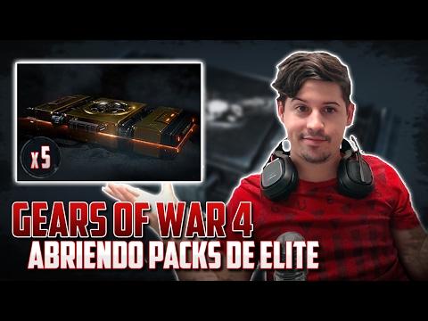Gears of War 4 | Abriendo 5 Elite Packs | Racha de Legendarios!!