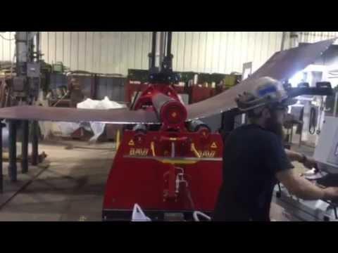 Fraser Shipyards New Steel Roller