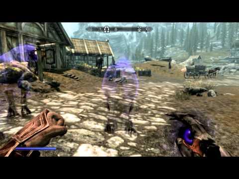 Skyrim - Mods - Summon Ethereal Horse - YouTube