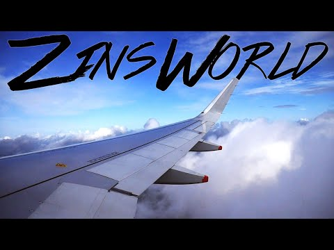 ZinsWorld Vlog 80 *Flying from DC Dulles to Bucharest via London Heathrow Airport Music Video*