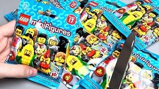 LEGO Minifigures 17 серія Огляд і розпакування мініфігурок Лего