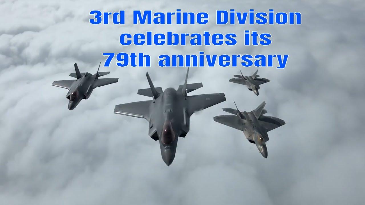 US Marines • 3d Marine Division • 79th Anniversary • 2021