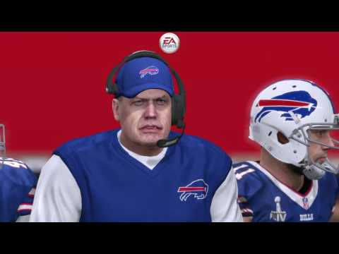 Madden NFL 17 - I lost the Super Bowl to the Buffalo Bill