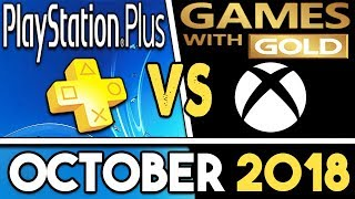 Ps  Vs Xbox Games With Gold (october 2018 Free Games)