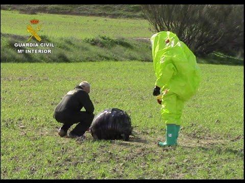 SPHERE FALLS FROM HEAVEN IN SPAIN NOVEMBER 5, 2015 (SPACE JUNK)