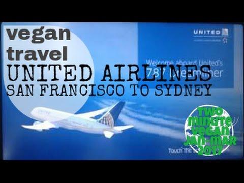 Vegan meal - United airlines dream liner - Economy plus - 2 minute vegan