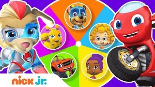 Guess the Missing Colors w/ PAW Patrol Mighty Pups & Bubble Guppies 🌈 Color Game Ep. 5 | Nick Jr.