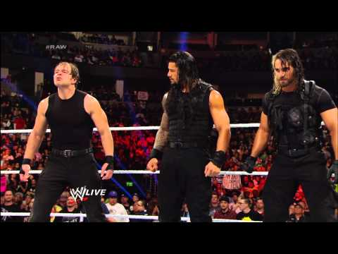 The Wyatt Family and The Shield come face-to-face: Raw, Feb. 17, 2014