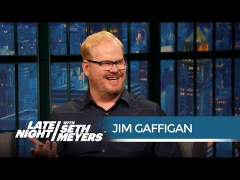 "Stop Yelling ""Hot Pockets!"" at Jim Gaffigan - Late Night with Seth Meyers"