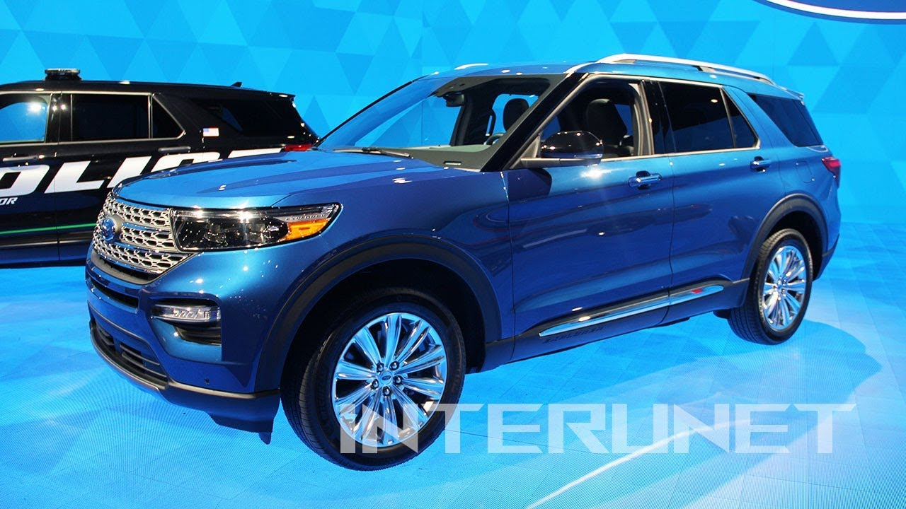 2020 Ford Explorer Limited Hybrid New 7 Passenger Suv
