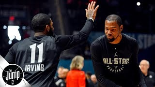 Friendship helped drive Kevin Durant to sign with the Brooklyn Nets - Ramona Shelburne | The Jump