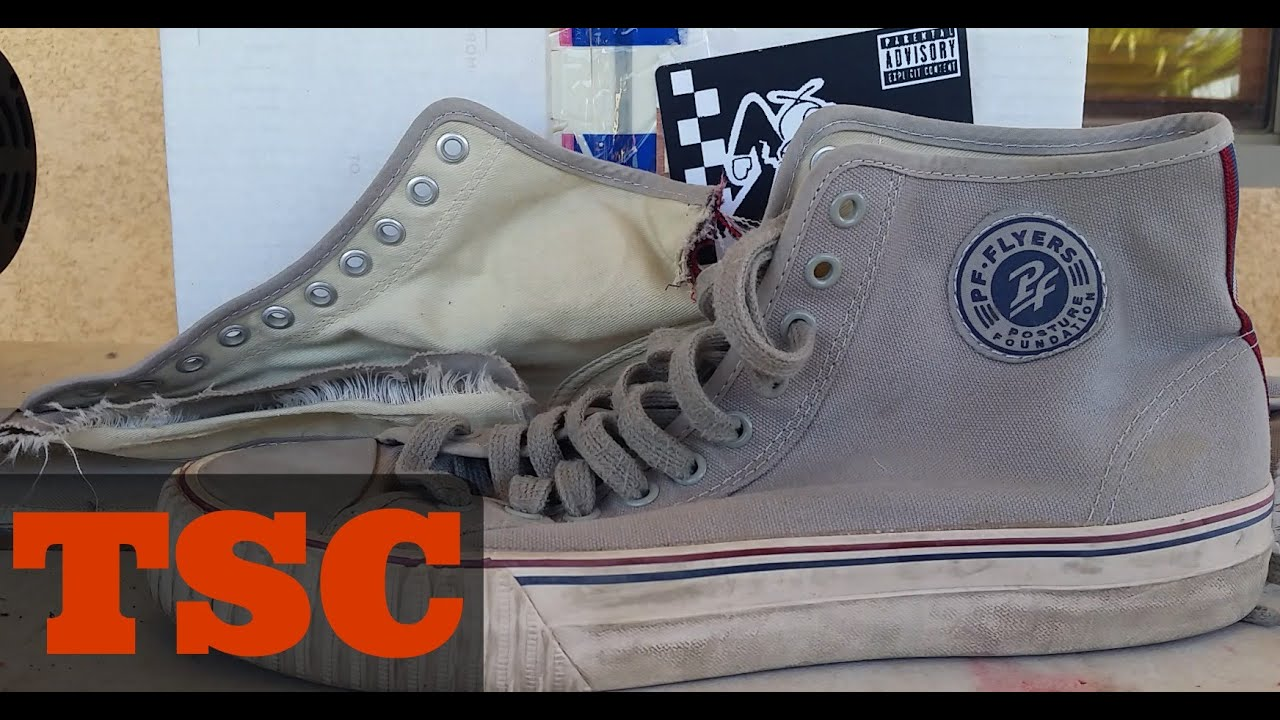 972f14bd372d00 What s Inside P.F. Flyers Sneakers Shoe Tech Review - YouTube