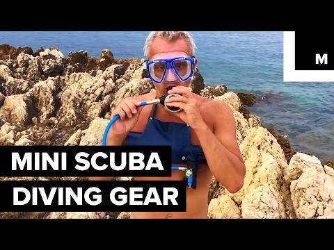 Mini scuba diving gear