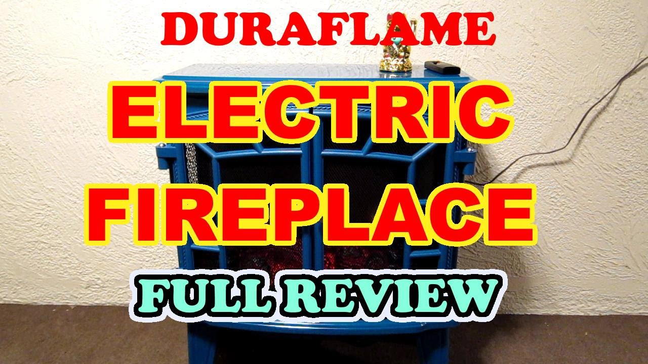 DuraFlame DFS950 Electric Fireplace from QVC -- FULL REVIEW -- I ...