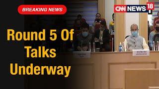 5th Round Of Talks Between Central Govt & Farmers Begins   CNN News18