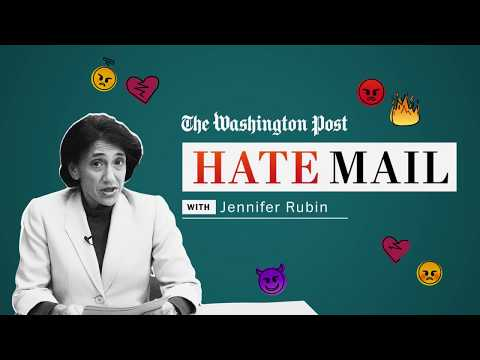 Washington Post Hate Mail: Jennifer Rubin