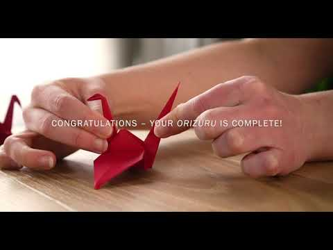 Japan Airlines: How To Fold a Paper Crane