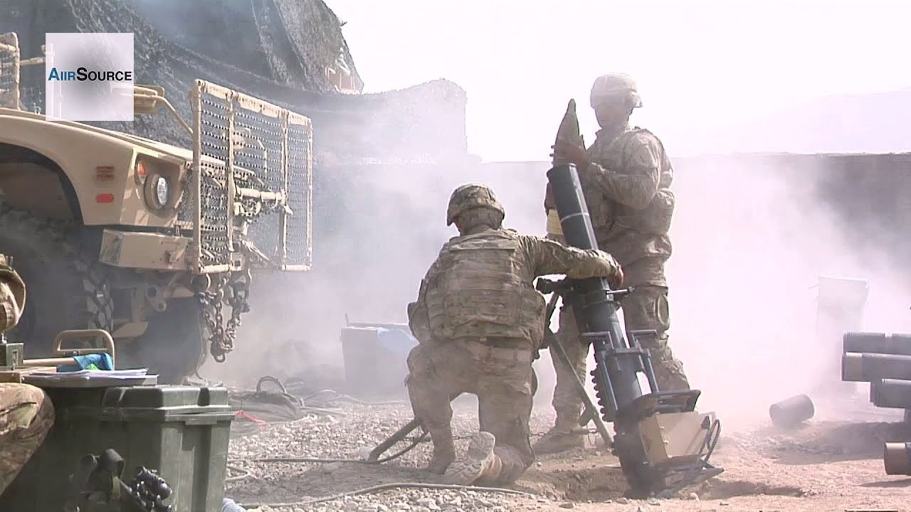 60mm, 120mm Mortars - Live Fire Exercise at FOB Khilagay