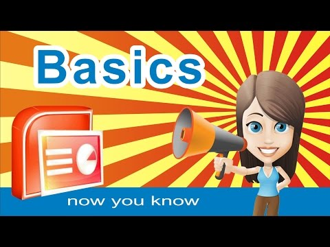POWERPOINT presentation - tutorial basics. Fast learning in just 19 minutes !