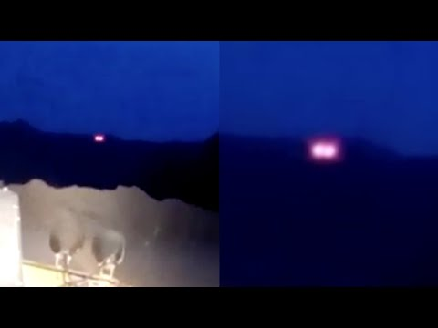 Red Glowing UFO Captured by Construction Worker Before Vanishing in Chihuahua (Mexico) - FindingUFO