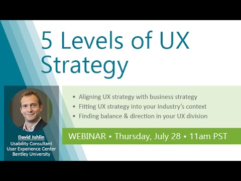 5 Levels of UX Strategy