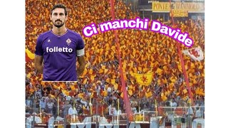 Inno della  Roma + omaggio  a Davide Astori l ultimo saluto  + formazione  3- 0 Roma torino