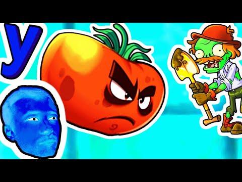 Растения вернулись к ПРоХоДиМЦу и его Команду дополнил СУПЕР Помидор! #791 Игра для Детей