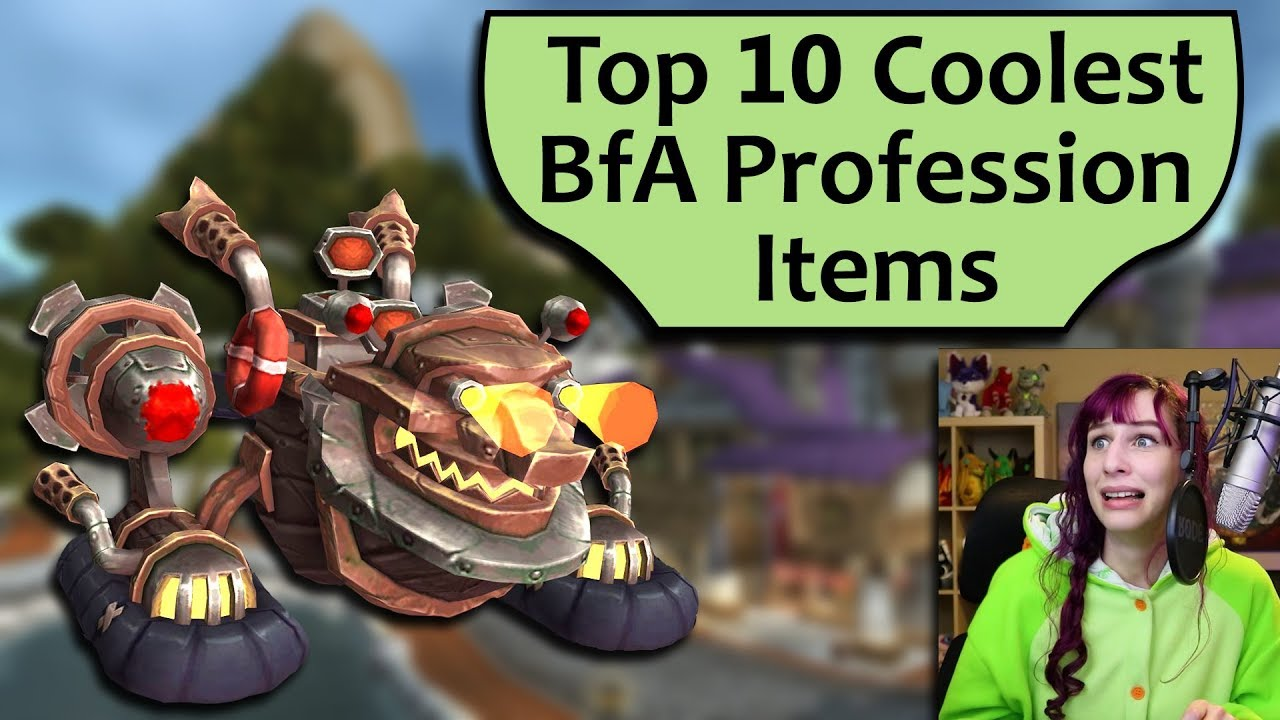 Top 10 Coolest Profession Items in BfA