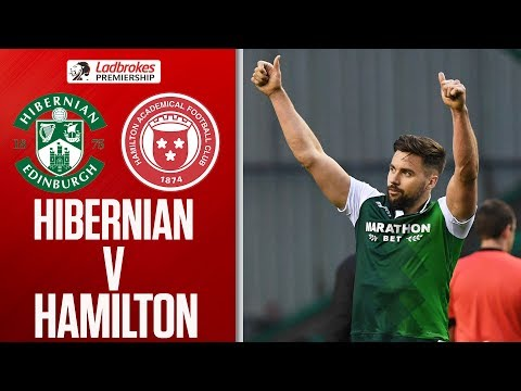 Hibernian 2-0 Hamilton | Kamberi Strikes 1st For Win! | Ladbrokes Premiership