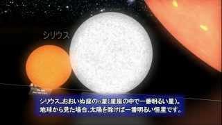 「月」から「おおいぬ座VY星」まで
