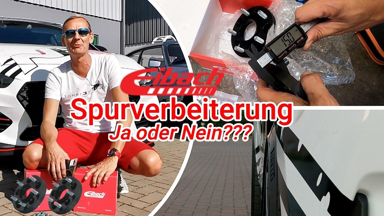 Hyundai i30N Performance - 30mm Eibach Spurverbreiterung, Einbau, Vor -und Nachteile - Gewinnspiel!!