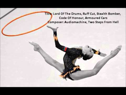 'Lord Of The Drums,Ruff Cut,Code Of Honour,Armoured Cars' Music For Rhythmic Gymnastics.wmv