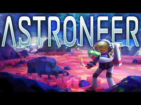 This Artic Planet Has Many Secrets! - Research Update - Astroneer Gameplay Part 1