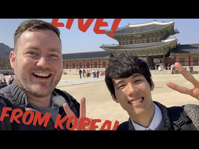 Live from SOUTH KOREA with Kyeongheum!! 跟京欽一起直播🇰🇷