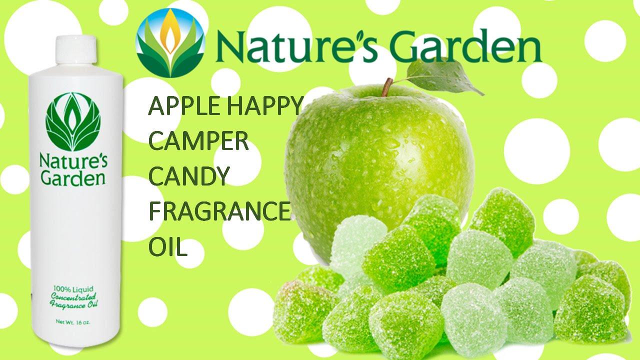 Apple Happy Camper Candy Fragrance Oil- Natures Garden