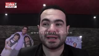 بالفيديو .. أحمد عيد يحتفل بالعرض الخاص لفيلمه الجديد