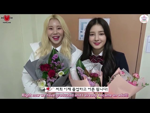 [ENG SUB] [Special Clip] MOMOLAND Maknaes Graduation Day