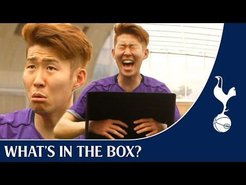 What's in the Box ? FT Heung-Min Son !
