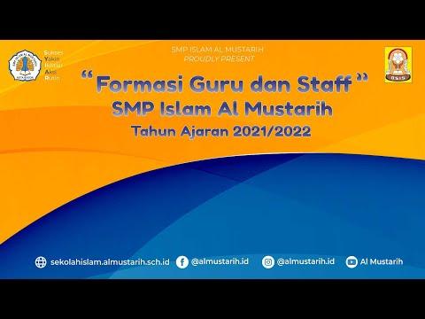 Perkenalan Guru Dan Staff SMP Islam Al Mustarih Tahun Ajaran 2021/2022