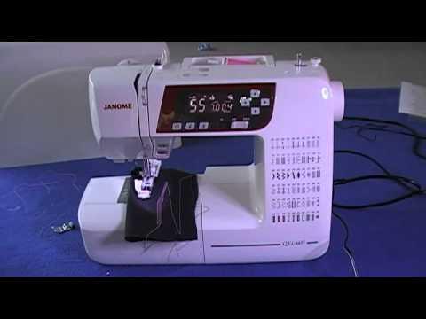 Janome XL40 DXL40 QXL40 Sewing Machine Review Part40 YouTube Magnificent Janome 2160dc Sewing Machine Review