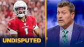 Mark Schlereth was impressed by how well Kyler Murray rebounded from bad startNFLUNDISPUTED